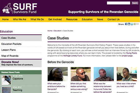 Survivors Fund Case Studies