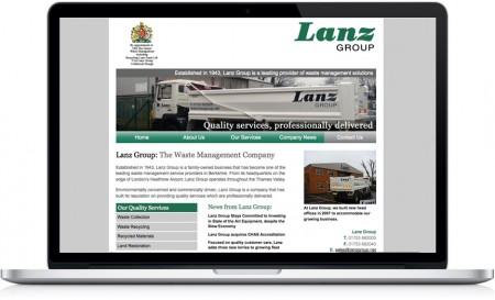Lanz Group Website