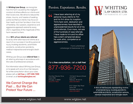 ... Whiting Law Group Firm Overview Brochure Outside