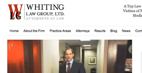 Whiting Law Group website