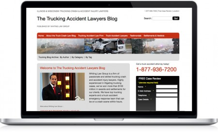 Whiting Law Group Trucking Accident Lawyer Blog